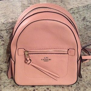 BRAND NEW Coach Leather Backpack